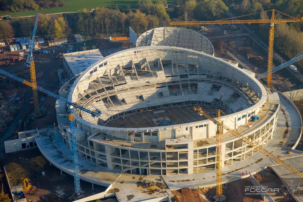 Budowa Hali Gliwice